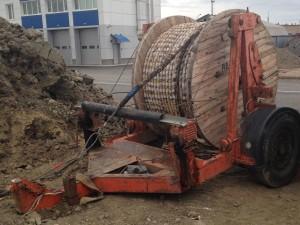Прицеп-кабельный транспортер грузоподъемный 5,8 тонн (2005 г.)