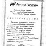 """ООО """"Балтик Телеком"""""""